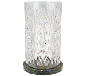 """""""As Is"""" Waterford and Connemara Marble Cylinder Hu"""