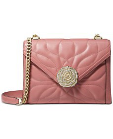 MICHAEL Michael Kors Whitney Petal Quilted Leather