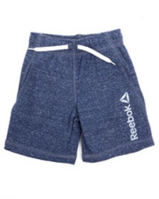 Reebok snow french terry shorts (2t-4t)
