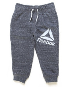 Reebok snow french terry joggers (2t-4t)