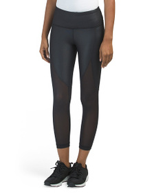 90 DEGREE BY REFLEX Capris With Mesh Panels