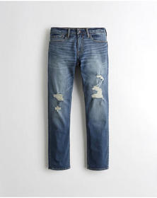Hollister Advanced Stretch Slim Straight Jeans, RI
