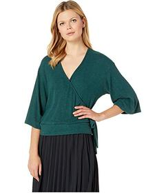 American Rose Eden Wrap Top with Tie