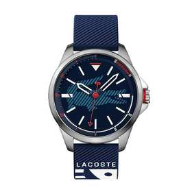Lacoste Men's Capbreton Watch with Blue Silicone S
