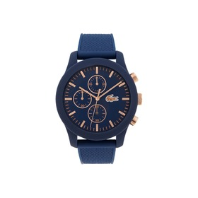 Lacoste Men's Lacoste 12.12 Watch with Blue Silico