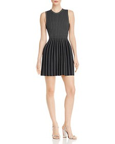 Theory - Striped Knit Dress