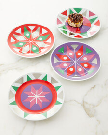 Neiman Marcus Holiday Plates Set of 4
