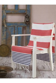 WALLITY Antalya Fouta Beach Towel - Red