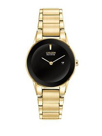 Citizen Axiom Yellow Goldtone Stainless Steel Brac