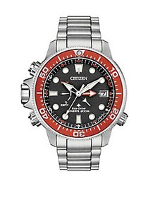 Citizen Promaster Aqualand Stainless Steel Diver W