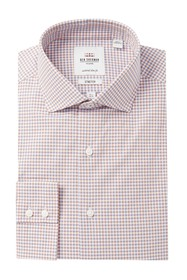Ben Sherman Gingham Stretch Tailored Slim Fit Dres