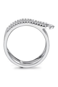 TARA Pearls 14K White Gold Diamond Ring - 0.16 ctw