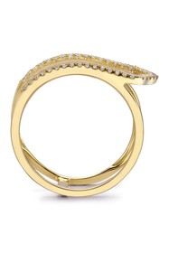 TARA Pearls 14K Yellow Gold Diamond Ring - 0.16 ct