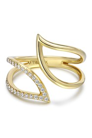 TARA Pearls 14K Yellow Gold Diamond Ring - 0.15 ct