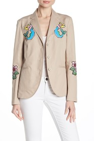 LOVE Moschino Mermaid Patch Blazer