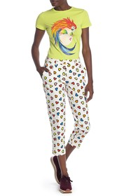 LOVE Moschino Pantalone Allover Cuori Pant