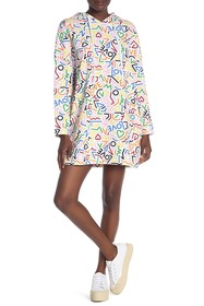 LOVE Moschino Abito Cappuccio Lineette Dress