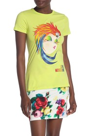 LOVE Moschino Donnina Pappagallo T-Shirt