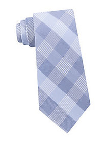 Calvin Klein Plaid Tie BLUE