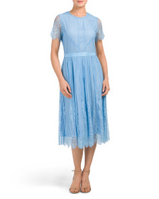 FOUR FLAVOUR Designed In Germany Lace Midi Dress