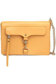REBECCA MINKOFF MAB chain-trimmed textured-leather