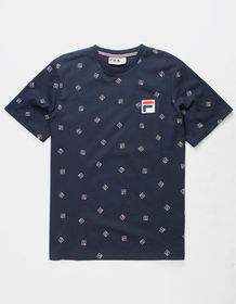 FILA Reign Navy Mens T-Shirt_