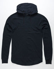 RSQ Toronto Navy Mens Hooded Thermal_