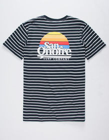 SAN ONOFRE SURF CO. Old School Mens T-Shirt_