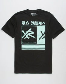 YOUNG & RECKLESS Barred Out Mens T-Shirt_