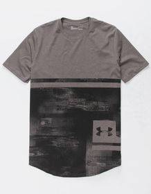 UNDER ARMOUR Sportstyle Printed Black Combo Mens T