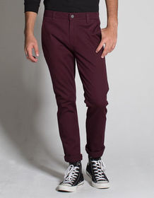 RSQ London Blackberry Mens Skinny Stretch Chino Pa