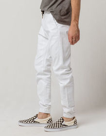 CHARLES AND A HALF Mens Twill Jogger Pants_