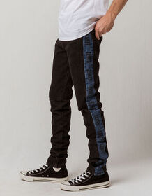 LEVI'S Lo-ball Stack Stripe Mens Ripped Jeans_