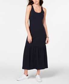 Tommy Hilfiger Flounce-Skirt Maxi Dress, Created f