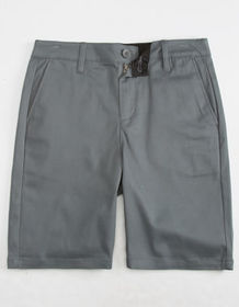 BLUE CROWN Stretch Classic Chino Mens Shorts_