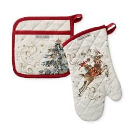 Twas the Night Oven Mitt & Pot Holder Set