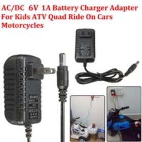 6V 1A Battery Charger Adapter AC/DC Powered For Ki