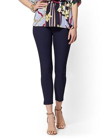 Whitney High-Waist Pull-On Ankle Pant - New York &