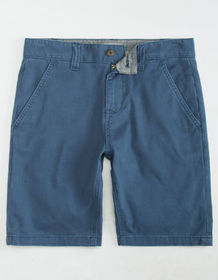 CHARLES AND A HALF Lincoln Stretch Blue Mens Short