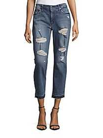 Joe's Jeans The Billie Ankle Boyfriend Distressed
