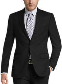 Calvin Klein Black Slim Fit Suit