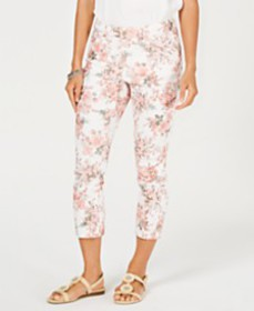 Charter Club Delicate Bouquet Capri Pants, Created
