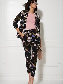 Madie Floral Open-Front Blazer - 7th Avenue - New