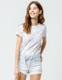 VANS Washed Salt Womens Baby Tee_