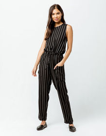 RVCA Pop Out Striped Womens Jumpsuit_