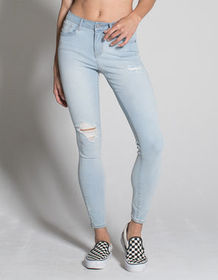 RSQ Miami Womens Ripped Jeggings_