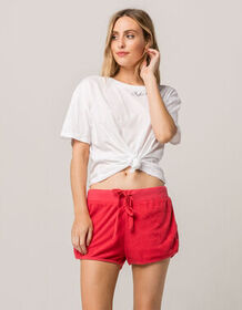 OTHERS FOLLOW Weekend Red Womens Dolphin Shorts_