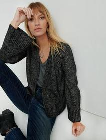 Lucky Brand Tie Front Cardigan