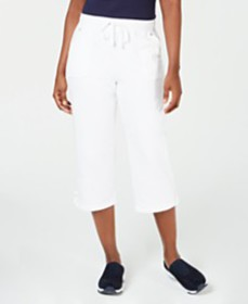 Karen Scott French Terry Capri Pants, Created for