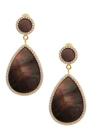 Savvy Cie 18K Gold Vermeil Black Mother of Pearl C